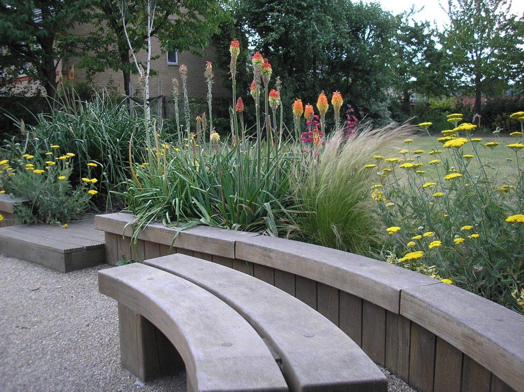 in New Street gardens