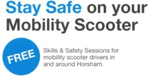 Stay safe on your mobility scooter